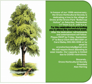 Read more about the article Come join the 100th anniversary of the Orono Horticultural Society